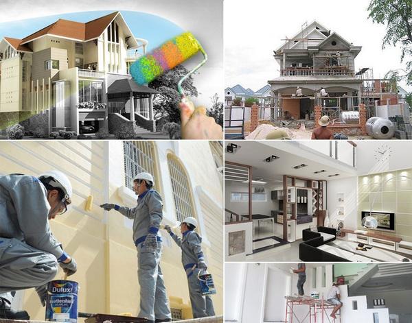Những lưu ý khi xây nhà và sửa nhà vào mùa mưa